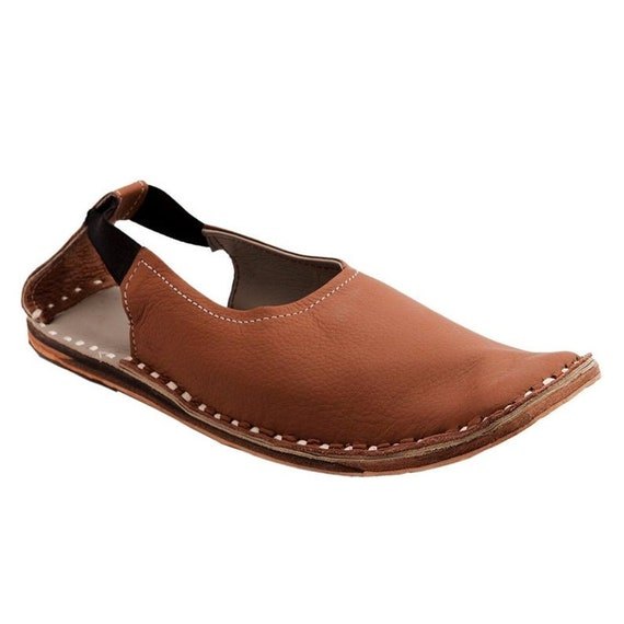 Indian Men's Sandy Brown Leather Casual