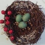 Christmas Tree Birds Nest Tradition