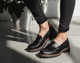 Penny loafer classic handmade top sider shoes