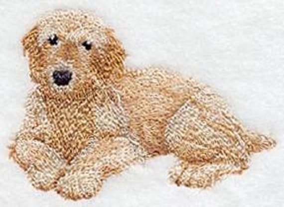 Labradoodle Goldendoodle Realistic Name Individually Embroidered Cover For Eu Pet Card Vaccination Passport Cover Vaccination Dog