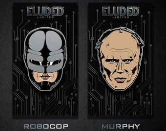The RoboCop and Murphy Enamel Pins NOW SHIPPING