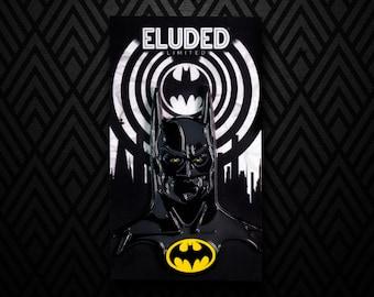 """Batman 2"""" Glow In The Dark Enamel Pin"""
