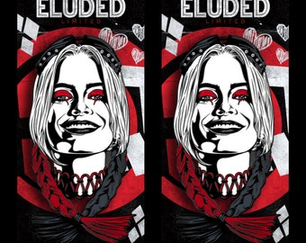 """Now Shipping! Harley Quinn - The Suicide Squad 2.5"""" Enamel Pin"""