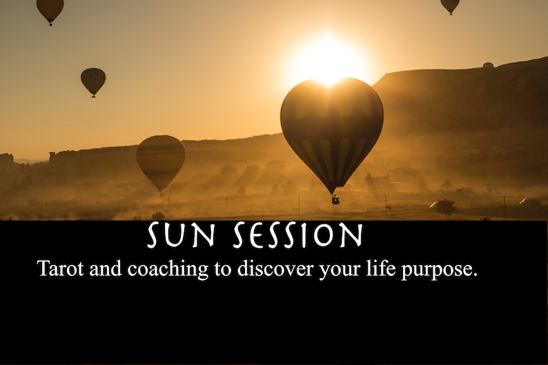 Sun Session  Tarot Reading and Intuitive Life Coach Session  image 0