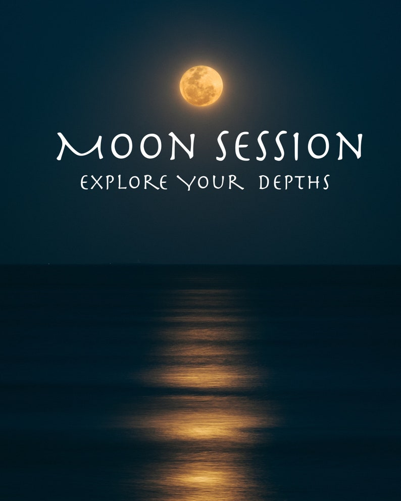 Moon Session  Coaching Session with Divination image 0