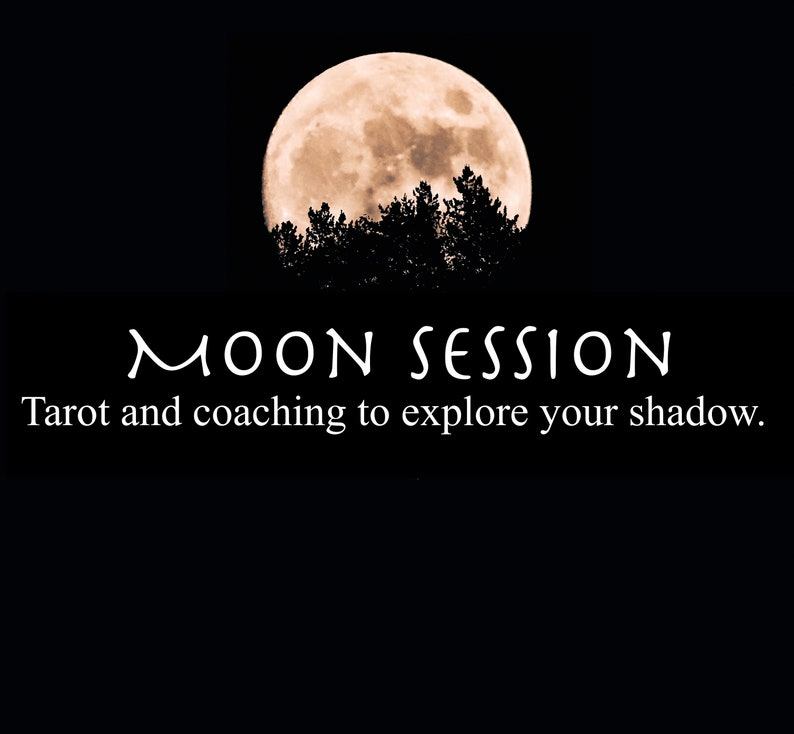 Moon Session  Tarot Reading and Life Coach Session  Shadow image 0