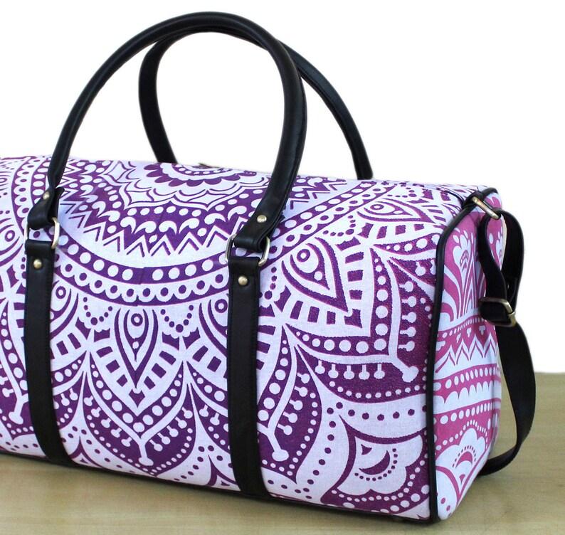 Sports Bag Yoga Mat BagCarrier Travel Bag Handbag Gym Bag Adjustable Strap Duffel Bag