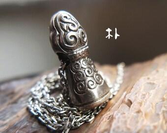 Ganges night sacrifice India tibet OM yoga necklace