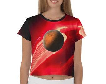 Naisten Galaktinen Yläkehopuvustaja [SGL Mars Edition Red-Black]