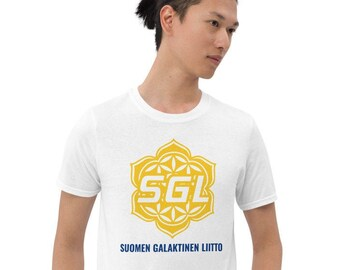 Suomen Galaktisen Liiton Unisex T-paita