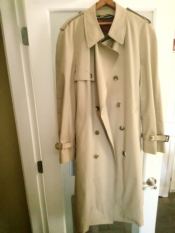 Vintage Sears Men's Trench Coat, Vintage Sears Men