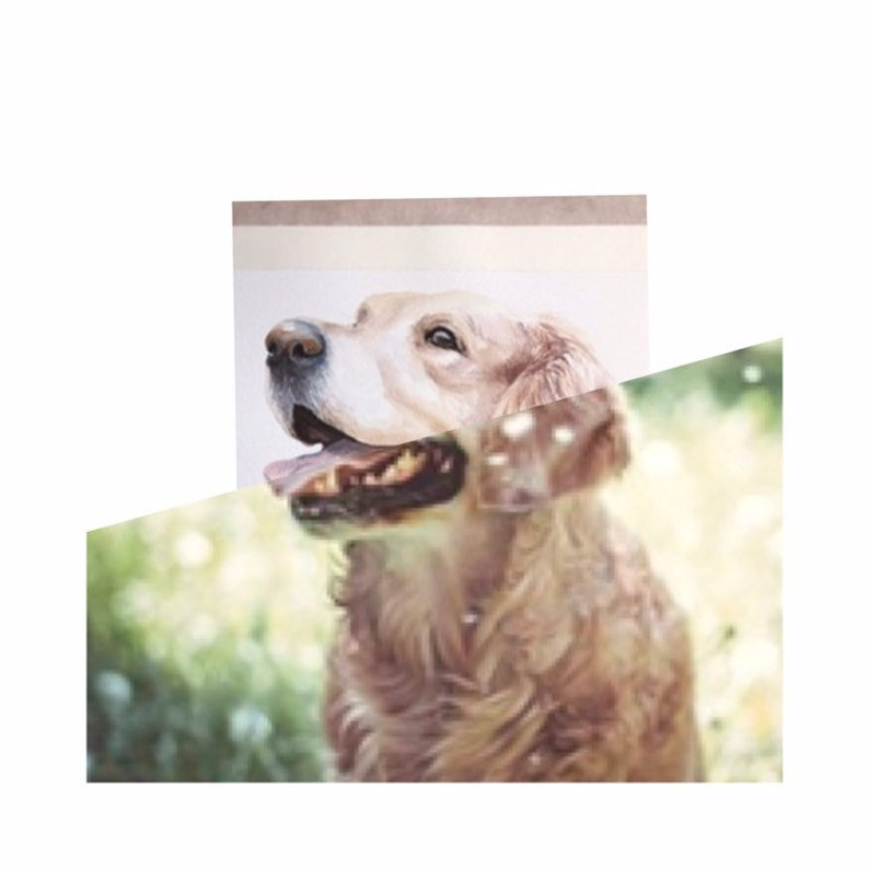 Bull terrier portrait Custom  Bullterrier Pet watercolor Painting from photo