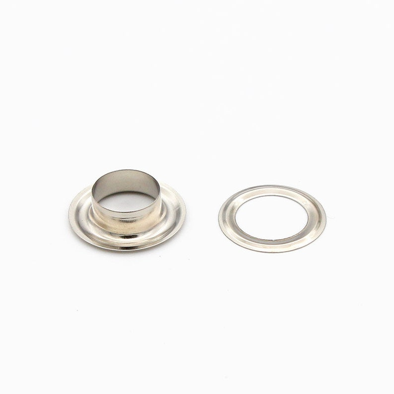 eyelets grommets with washers Metal Grommets rivets metal eyelets for canvas leather craft shoes inner 50set 12mm