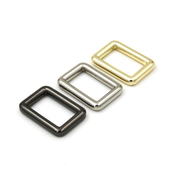 inner size Metal Rectangle Buckle Ring High quality Rectangular rings for Bag Belt Strap purse ring Strap rectangle ring 20*16mm