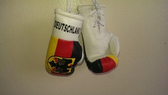 Mini guantes de boxeo par I Love Pakistán con Bandera Coche Espejo Retrovisor Colgante