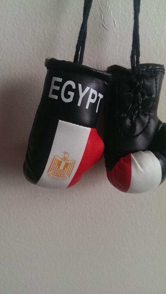 NEW EGYPT Country Flag Mini BOXING GLOVES .