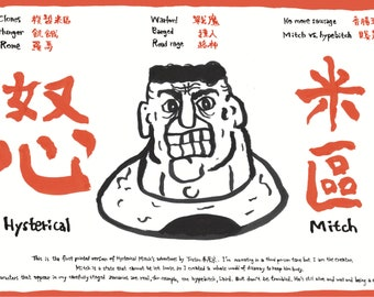 Hysterical Mitch - Fanzine - An abnormal graphic adventure and much deeper !