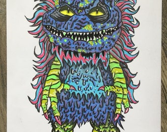 Original Hand drawn Critter