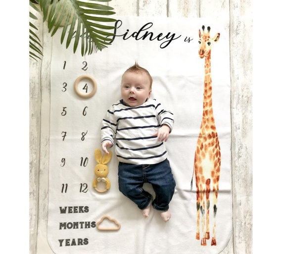 Baby Monthly Milestone Blanket,Universe Print Infant Baby Girl Boy Gifts Blanket,Toddler Swaddle Photography Blanket Wrap