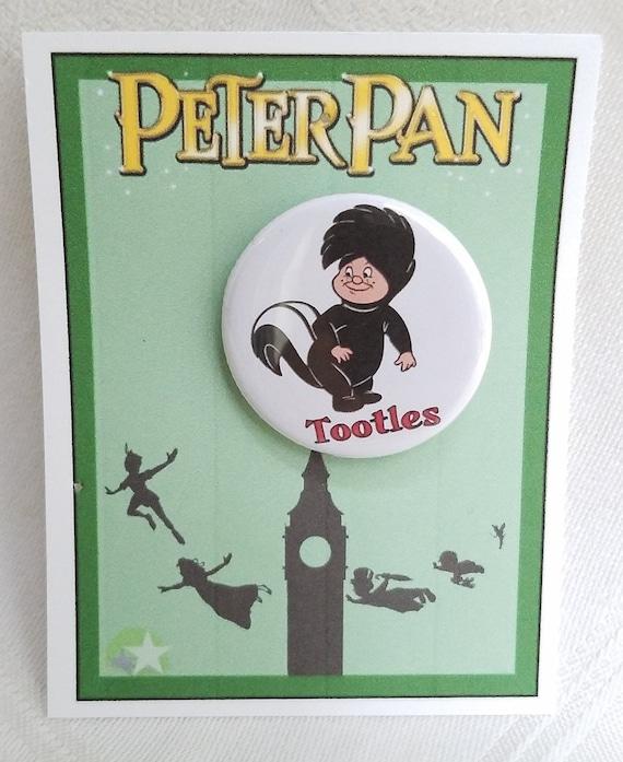 Lost Boy Nametag pin Disney Peter Pan