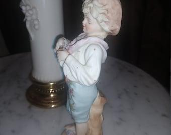 Antique German Boy Figurine