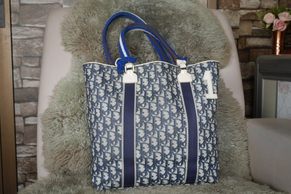 Authentic Vintage Christian Dior Tote Bag