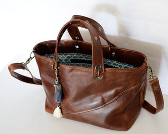 Wild Mini leather tote bag