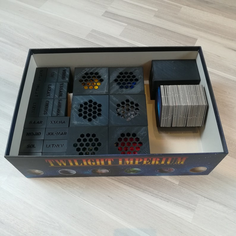 Twilight Imperium 4th Edition Board Game Insert