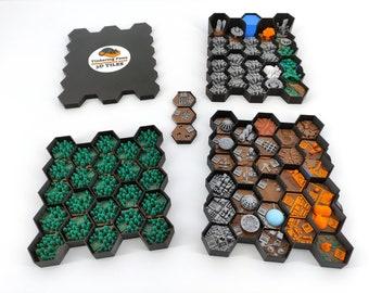 Terraforming Mars Tiles - Storage System