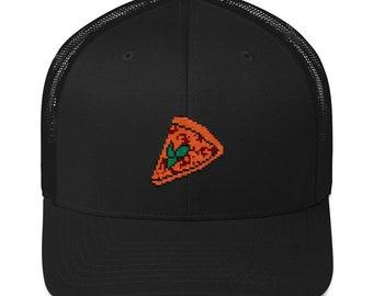 pizza mesh cap