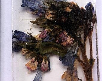 Mountain Bluebells Wildflower Pendant