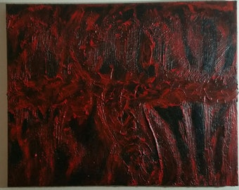 Dissociated  Abstract Painting on Canvas