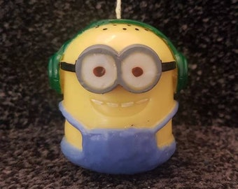 Minion/ Despicable me candle