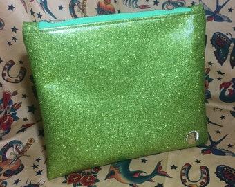 Conchita Couture Metalflake Cosmetic Bag