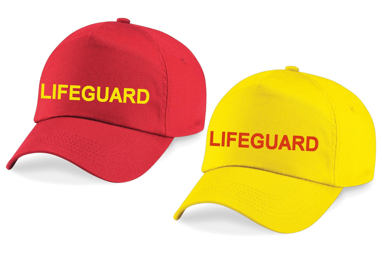 415a09200b3dcb Lifeguard printed baseball cap   Etsy