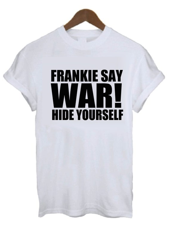 Men's Frankie Say War Hide Yourself T-shirt