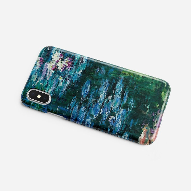 new concept abdab 91632 Claude Monet iPhone XS Max Case Claude Monet Water Lilies iPhone XS Case  iPhone 8 Case Huawei P20 Case Samsung Galaxy S9 Case iPhone XR Case
