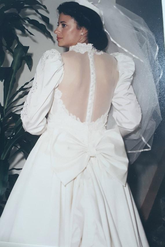 Victorian-Style Wedding Gown