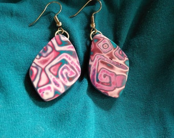 Earrings from the Macha collection, model 2