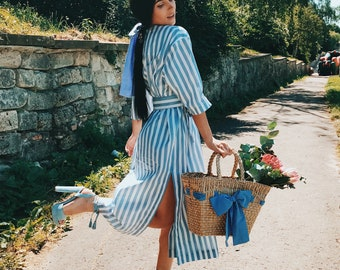 Cotton midi dress summer