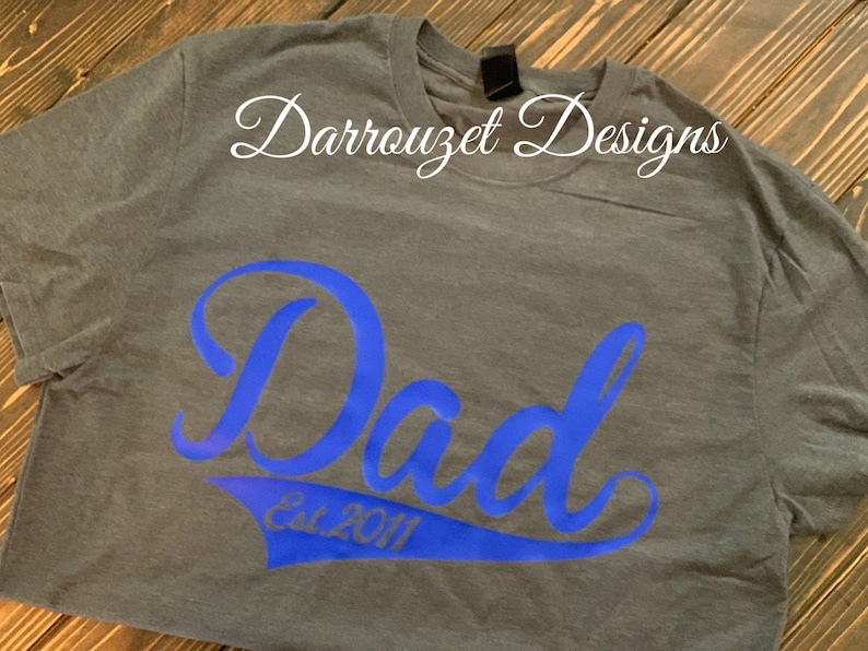 3eb9f3188 Baseball Dad Shirt/ Custom Dad Shirt/ Fathers Day Gift/ Custom Fathers Day  Gift