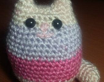 Crochet Cat Keychain