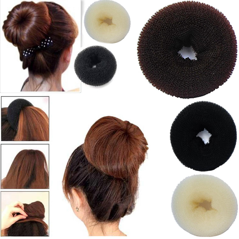 Hair Bun Mesh Maker Shaper Doughnut Former Ring Twist Styler Hair Accessories.