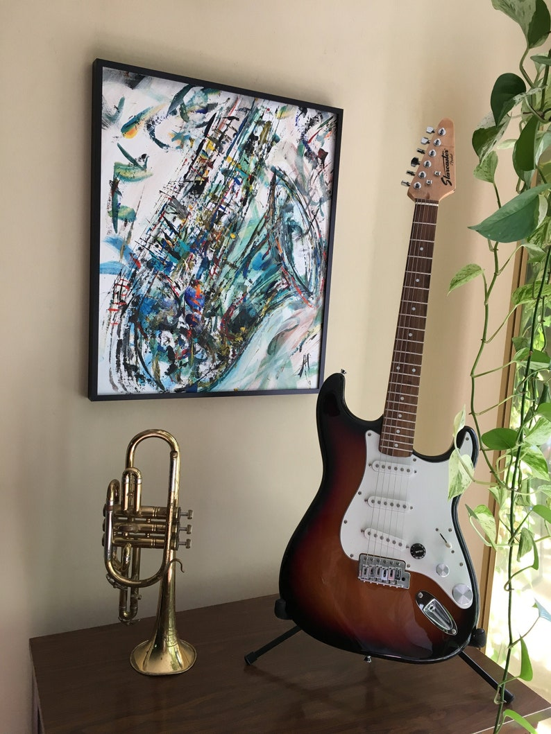 Nothing Like Good Teal & Sax image 0