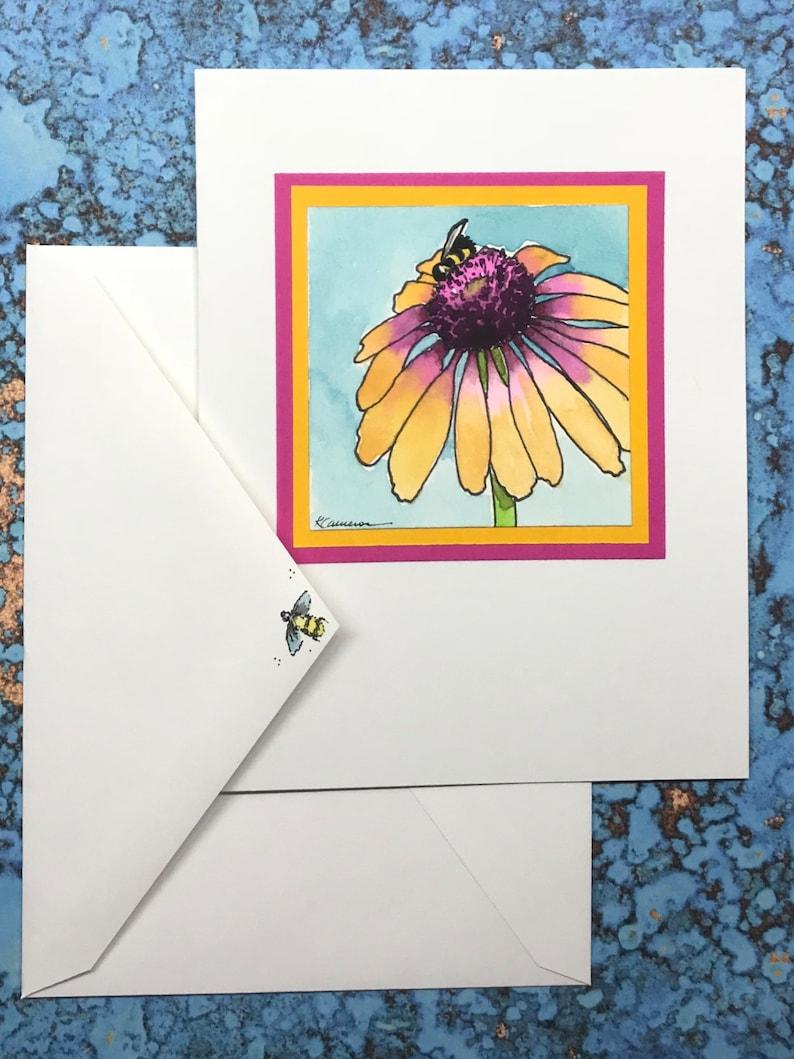 Rainbow Echinacea or Coneflower Blank Inside image 0