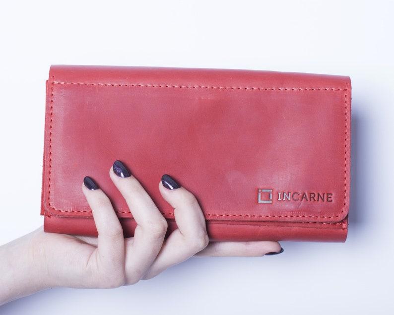 d562c39c22e0 Women Leather Wallet Travel Wallet Personalized Leather Leather Card Wallet  Coin Wallet Passport Wallet Minimalist Wallet Passport Holder