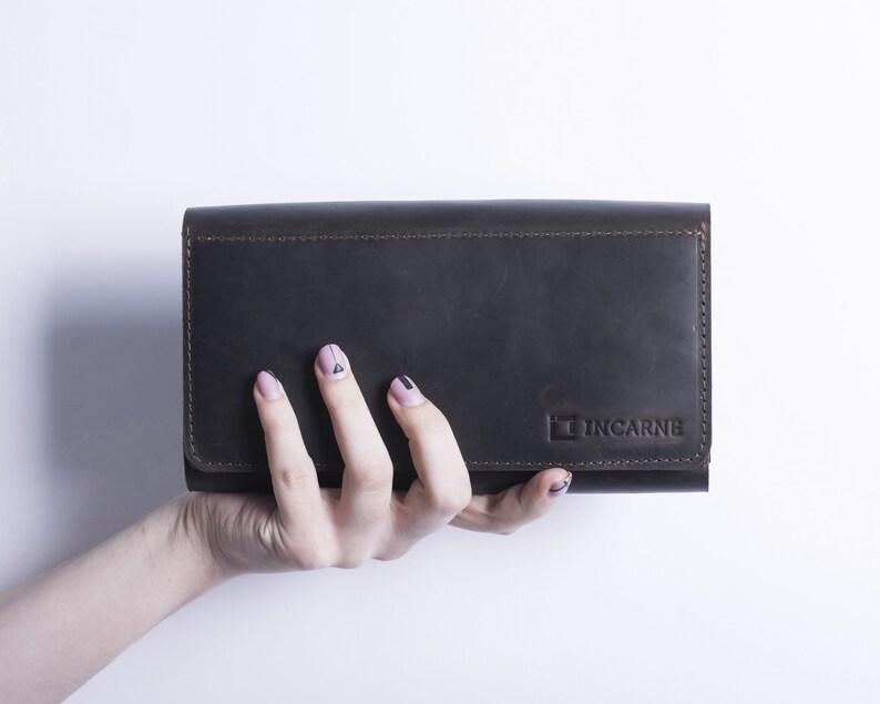 4a80a644d013 Minimalist Wallet Passport Holder Mens Leather Wallet Travel Wallet  Passport Wallet Leather Card Wallet Handmade Wallet Brown Leather Wallet