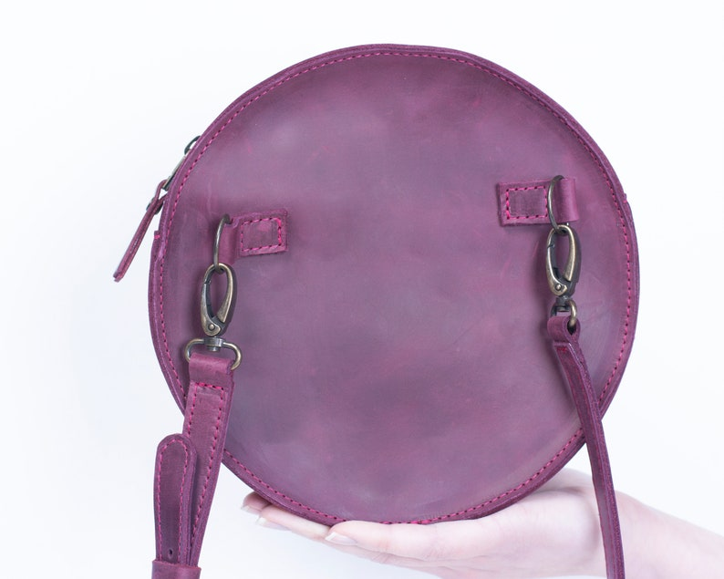 Waist Purse Travel Bag Leather Fanny Pack Leather Waist Bag Leather Belt Bag Waist Pack