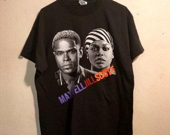 Maxwell And Jill Scott Tour Shirt