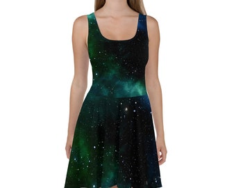 90ddeb27a3a Space Dress    Rave Outfit    EDM clothing    Dresses    Space Clothing  Women    Festival Clothing Women    Burning Man    Psychedelic